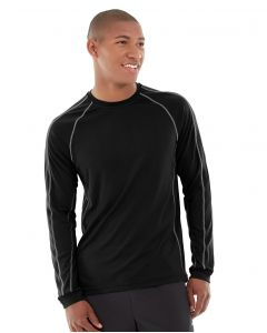 Deion Long-Sleeve EverCool™ Tee-XS-Black